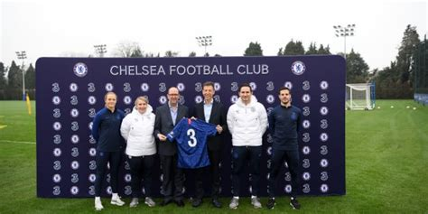 Chelsea announces Three as new official shirt sponsor