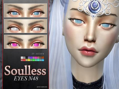 The Sims Resource: Anime Eye Megapack N04 - 10 different