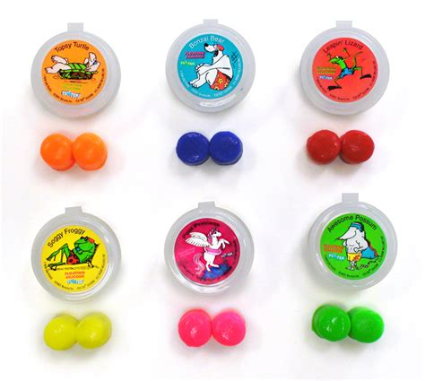 Putty Buddies FLOATING Colorful Soft Moldable Silicone