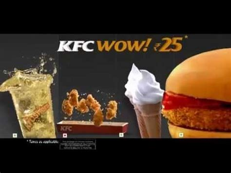 KFC India WOW! TV Commercial 2013 - YouTube