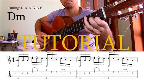 Fingerstyle Tutorial: The Last of The Mohicans   GUITAR