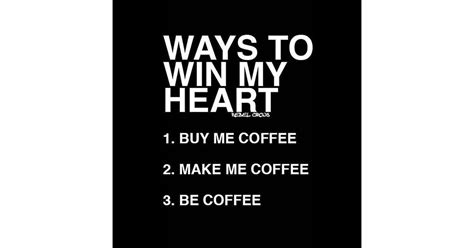 Coffee = the key to my heart
