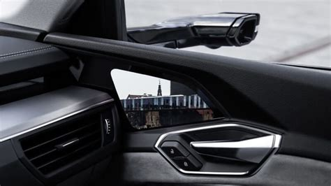 The Audi E-Tron SUV replaces side mirrors with cameras