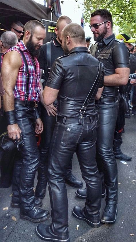 Mens leather clothing image by LeatherManNick on Gear UP