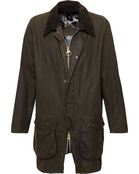 Barbour Wachsjacke Classic Northumbria, Innenfutter mit