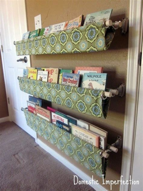 Dreams and Wishes: Book storage ideas for kid's rooms