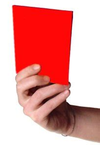 red card - Wiktionary