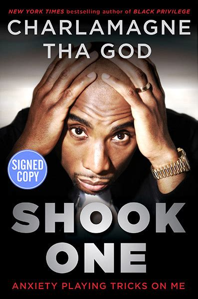 Shook One - Anxiety Playing Tricks on Me - Autographed