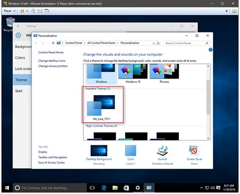 How to get rid of the line under the taskbar icons