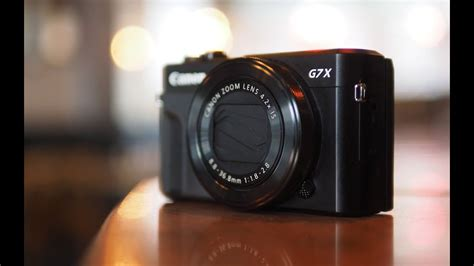 Canon G7X II review - YouTube