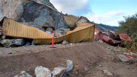 US-95 at slide south of Riggins to remain closed - Local