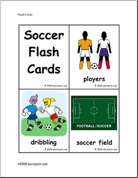 Physical Education Soccer Worksheets page 1 | abcteach