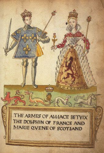 Mary Queen of Scots and the arms of England | The History Jar
