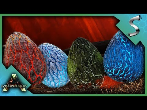 [8] Stealing Wyvern Eggs! (Ark Scorched Earth Survival