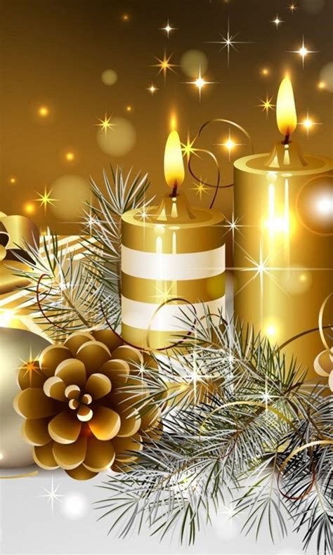 Free Christmas Candles Wallpapers HD Wallpapers Desktop