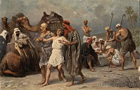 Joseph being sold into Slavery by His Brothers Judaica