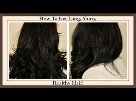 How To Get Long Shiny Healthy Hair With Coconut Oil! My