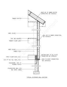Image result for timbers & bearers wall section detail