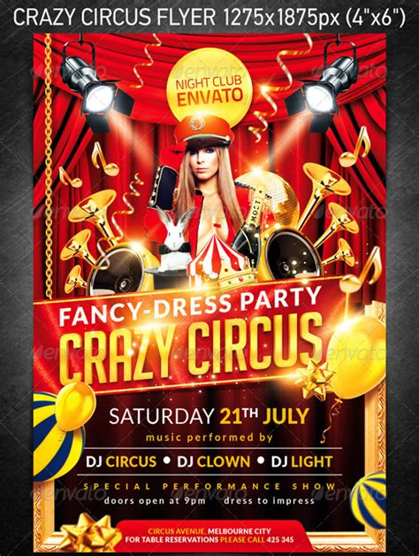 FREE 25+ Circus Flyer Templates in PSD | Vector EPS