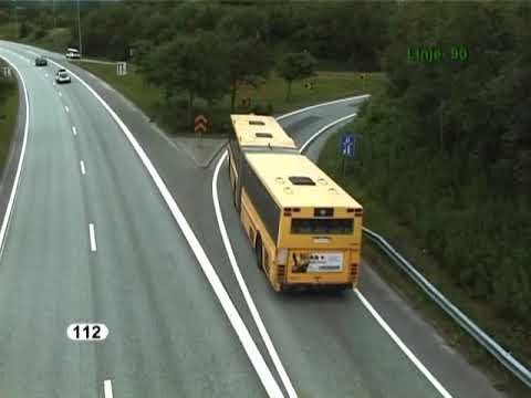 Buses and trains in the Stavanger region of Norway