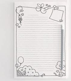 Lined (Portrait) Writing Paper
