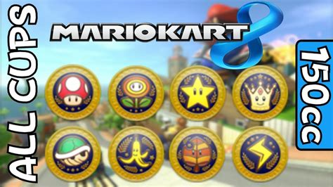 Mario Kart 8 - All Cups & Courses on 150cc (all 32 tracks