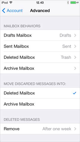 Setting up mail on iPhone (iOS 7) – Support   One
