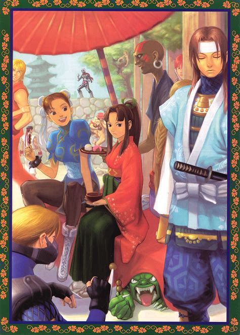 Street Fighter EX2 - TFG Review / Art Gallery