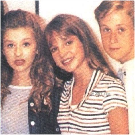 baby christina, britney, and ryan ~ mickey mouse club
