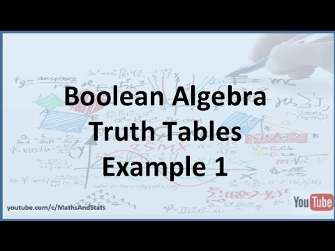 Truth Table Representation of Boolean Functions