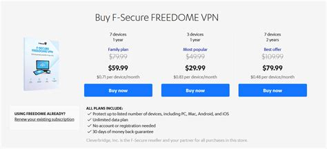 F-Secure Freedome VPN Discount Code: 100% Verified Coupon