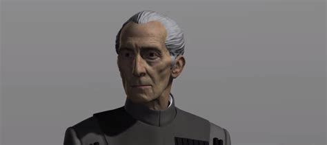 VOTD: See How Rogue One's Grand Moff Tarkin Visual Effects