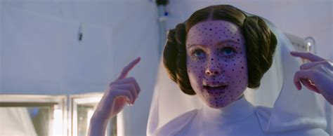 """Here's what the actress playing Princess Leia in """"Rogue"""