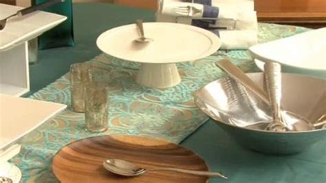 Watch Expert Entertaining Tips | Setting the Buffet Table