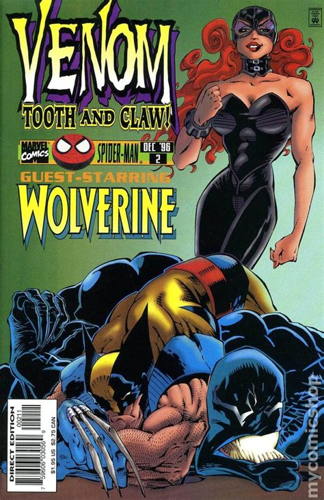 Venom Tooth and Claw (1996) comic books