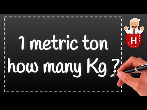 Ton vs Tonne, what's the difference? Which one is heavier?