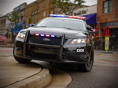 New Ford Police Interceptor Utility to Chase Bad Guys with