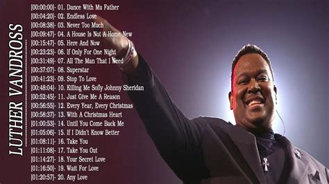 Luther Vandross Greatest Hits Best Songs of Luther