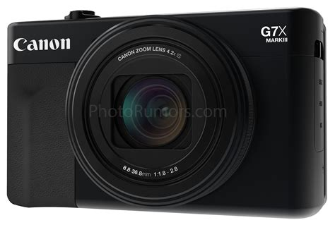 Leaked: Canon PowerShot G7 X Mark III Images and Specs